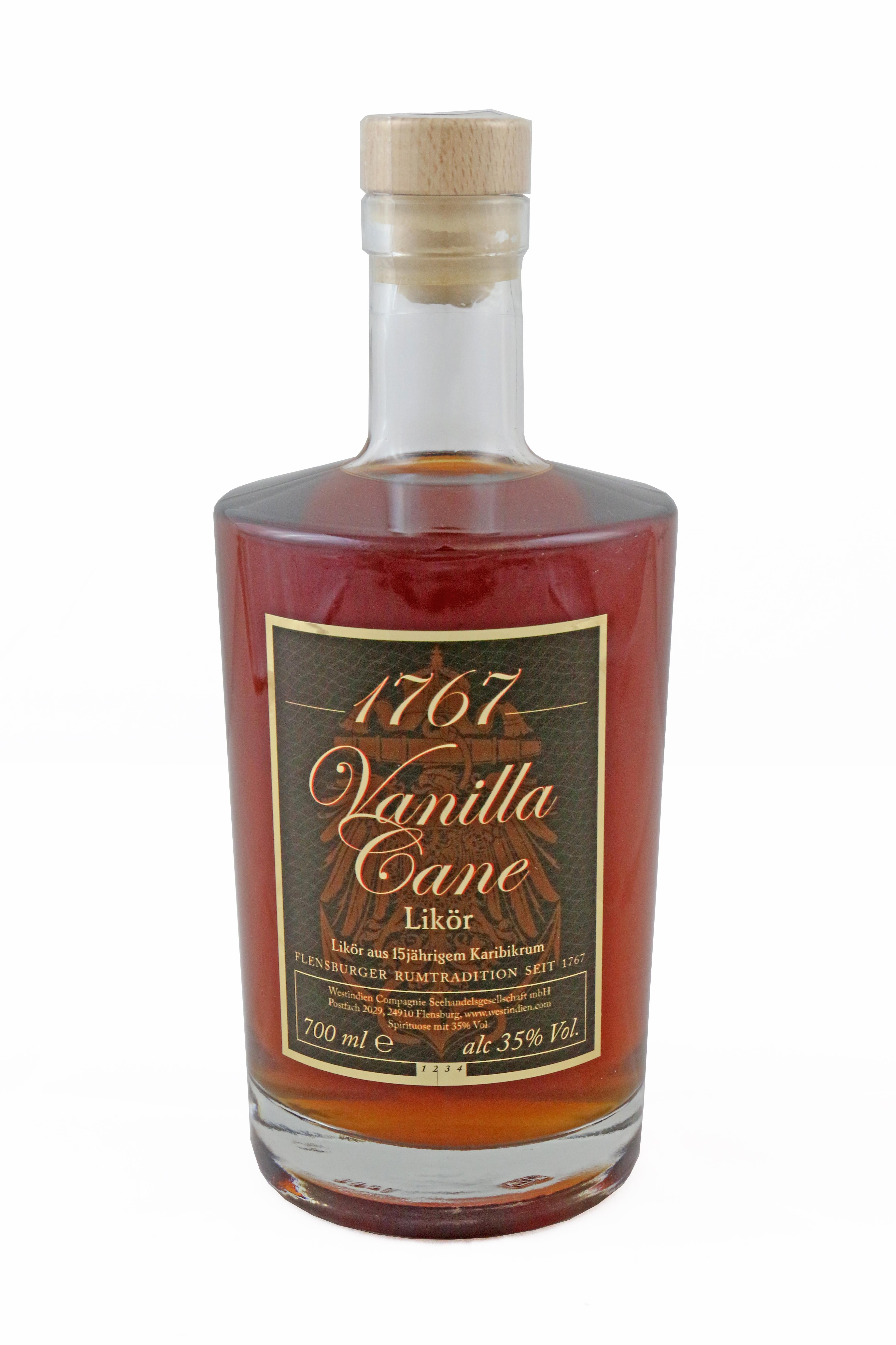 """""""1767 Vanilla Cane"""" Likör 35,0 % vol."""