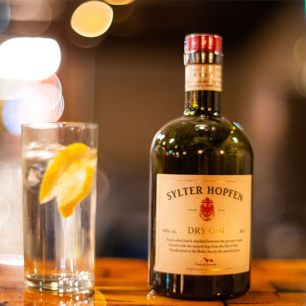 "Sylter Hopfen ""Dry Gin"" 44,0 % vol."