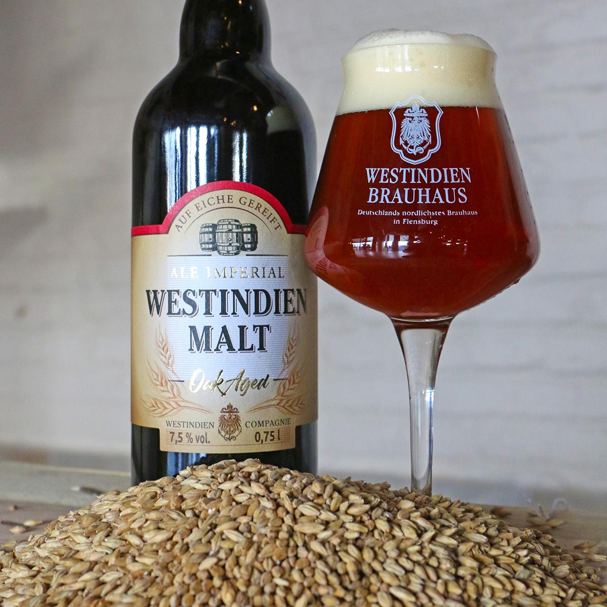 """""""Westindien Malt"""" Whiskybier 7,5 % vol."""