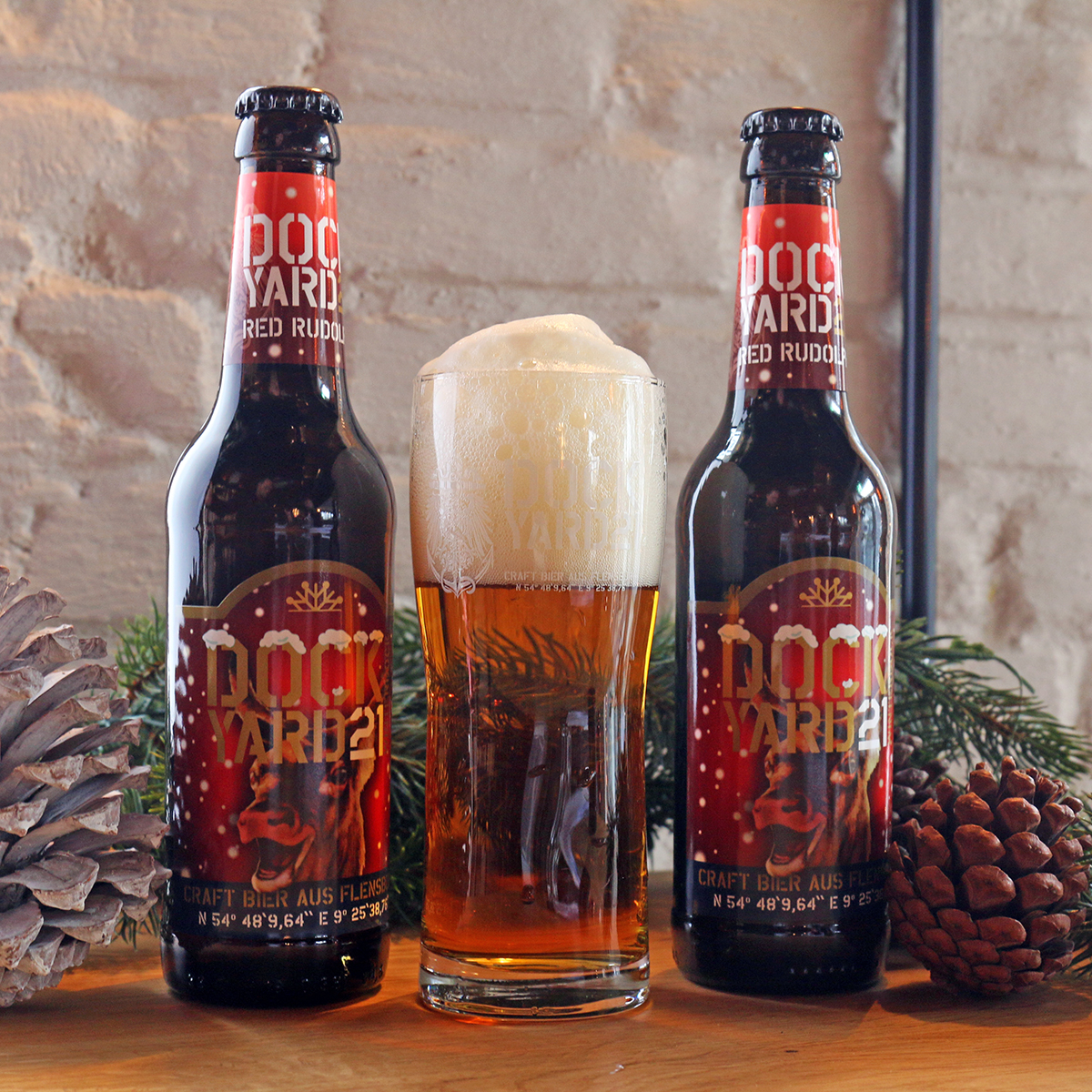 "DY 21 ""Red Rudolph"" Winterbock 6,8 % vol."