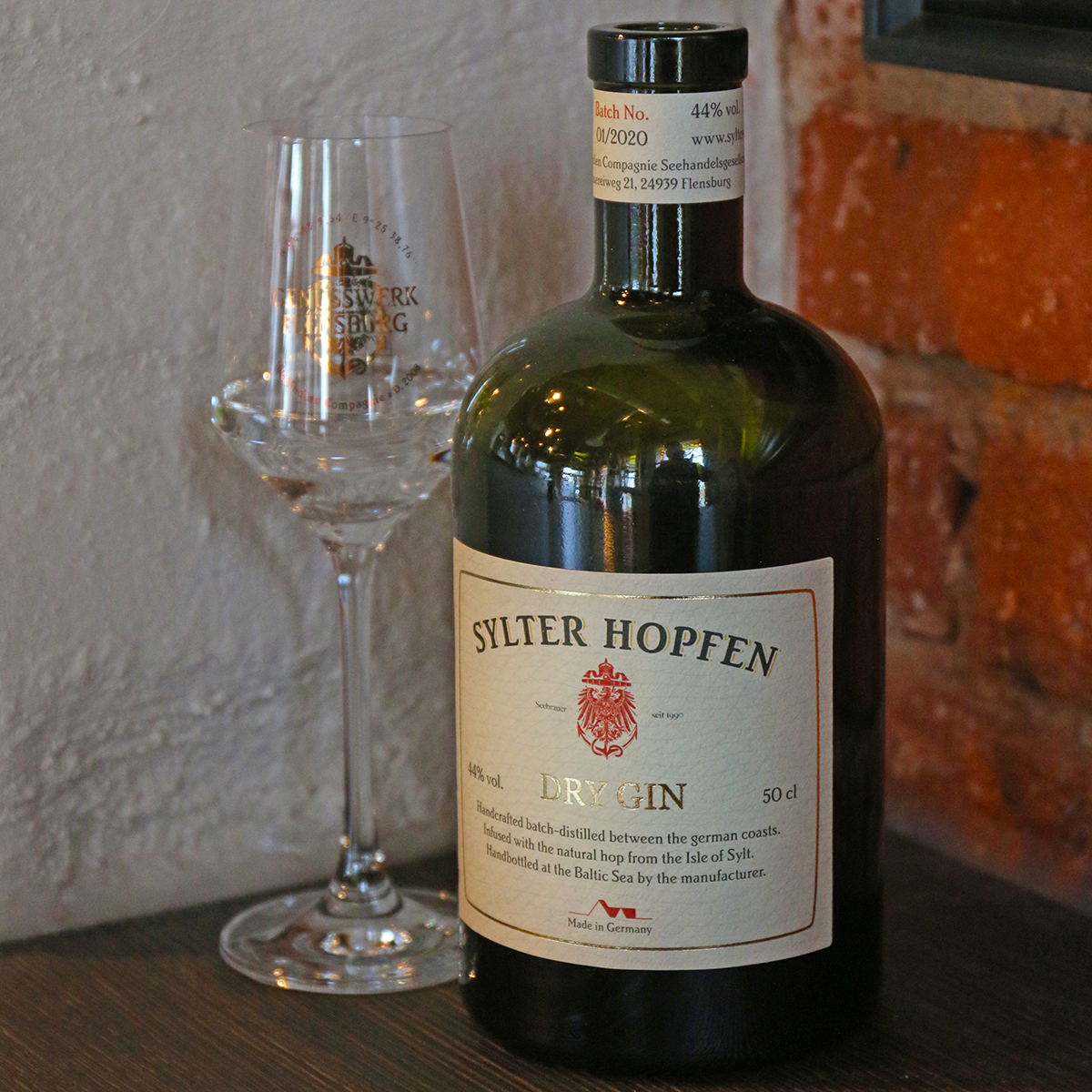 """Sylter Hopfen Dry Gin"" 44,0 % vol."