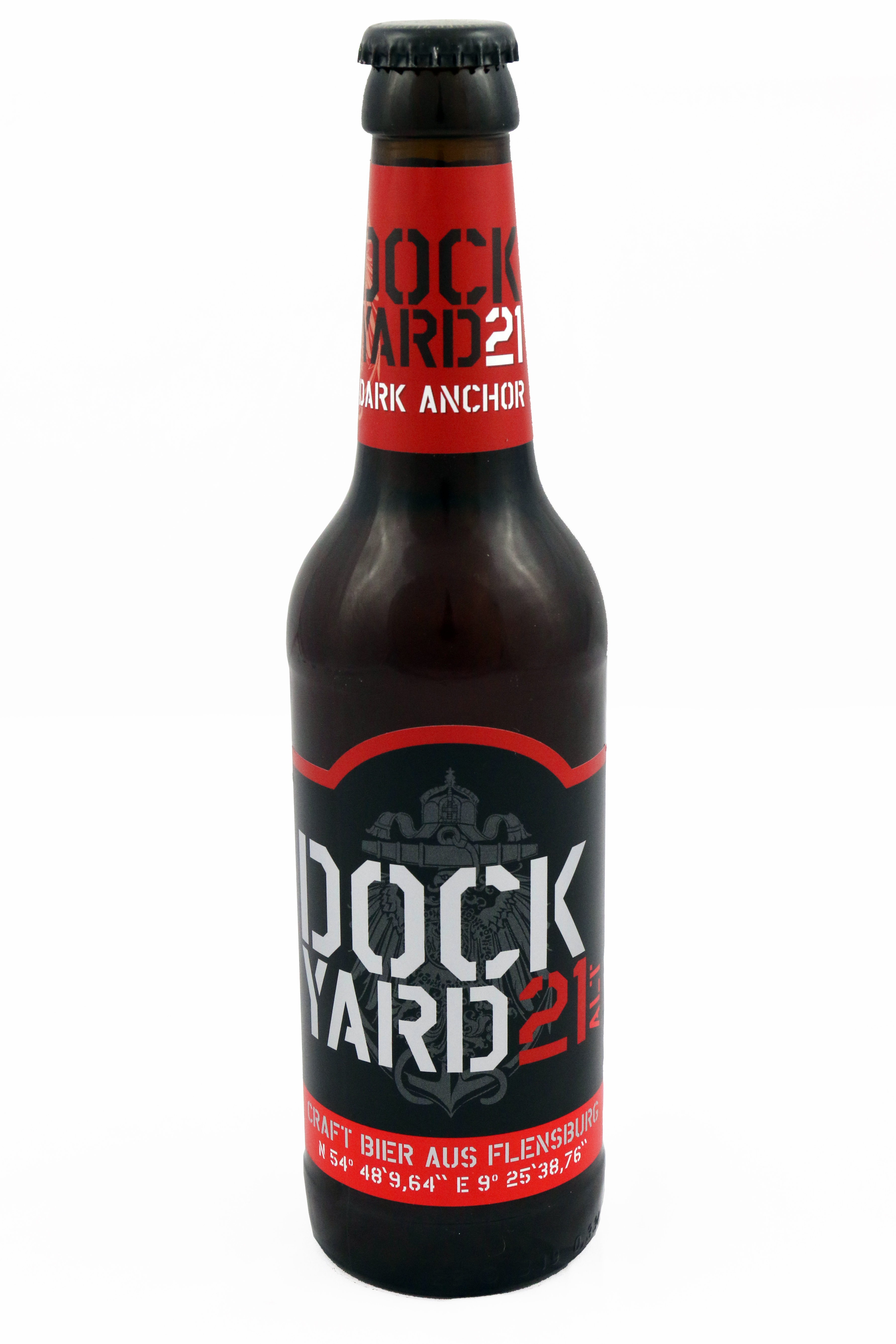 "DY 21 ""Dark Anchor"" Altbier 5,4 % vol. 0,33 Flasche"