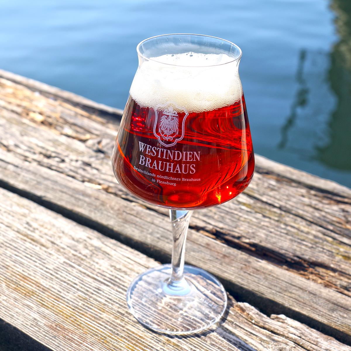 """Glas 0,3 L """"Westindien Brauhaus"""""""