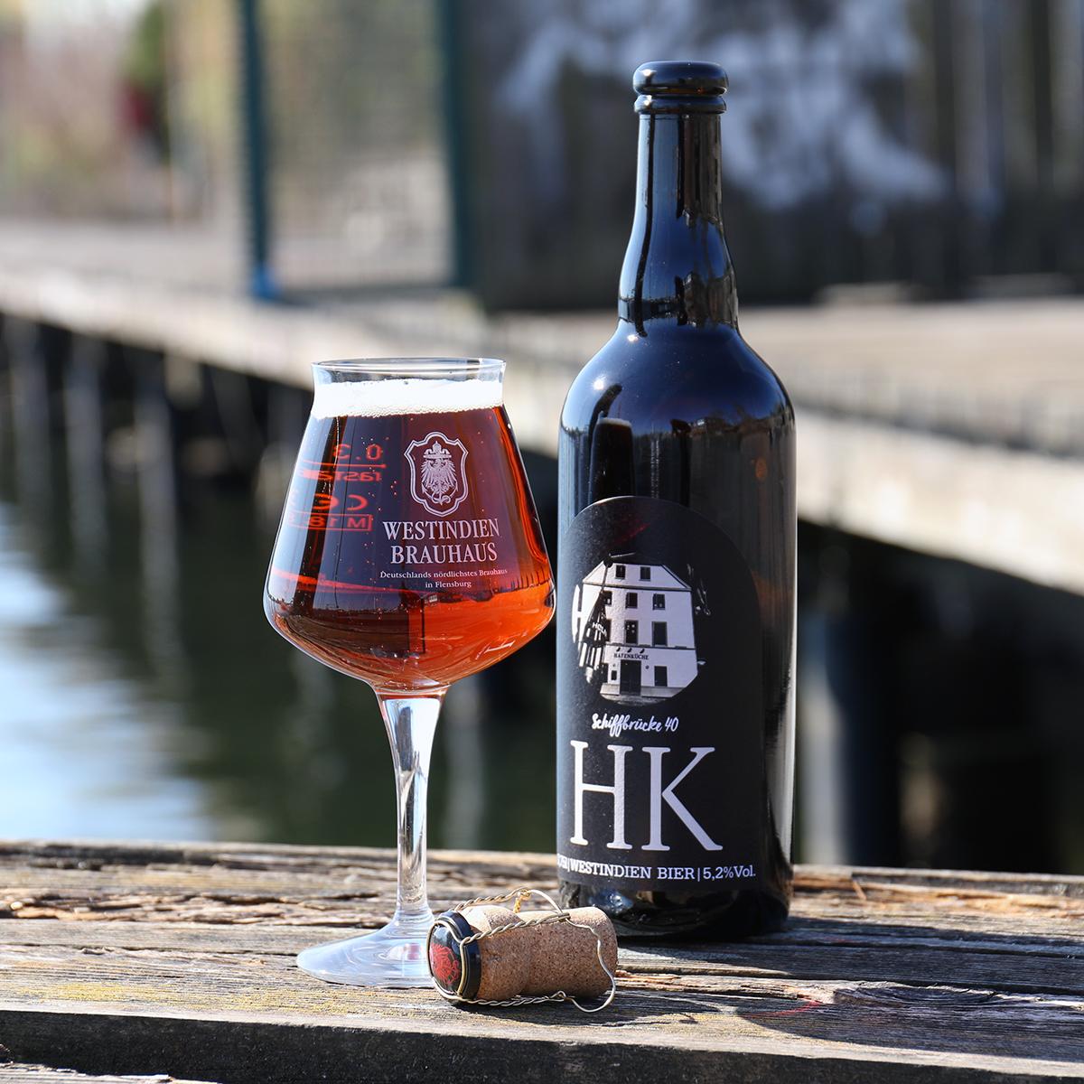 """""""Hafenküche Bier"""" Dunkles 5,2 % vol."""