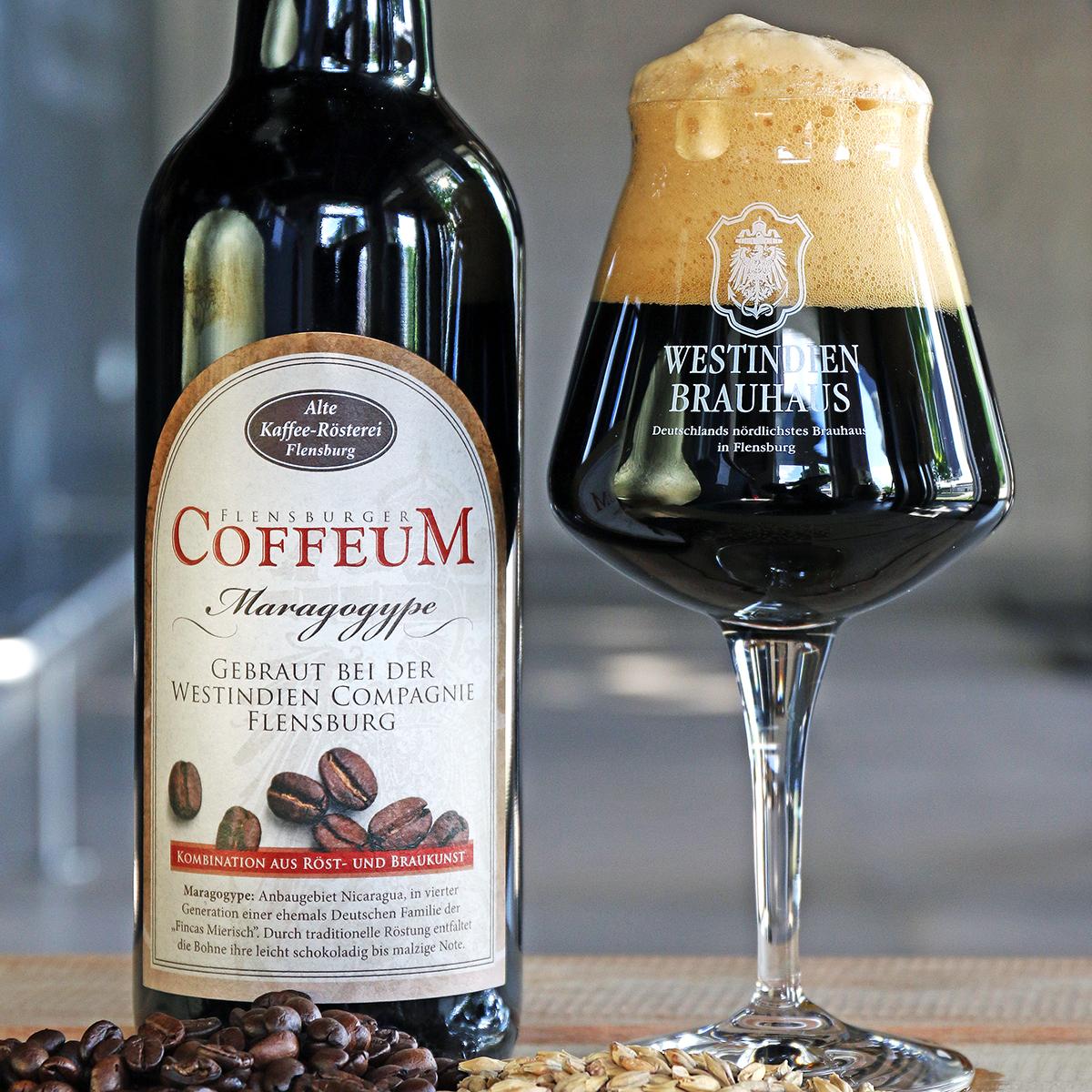 """Coffeum"" Kaffee-Brauhausspezialität 6,5 % vol."
