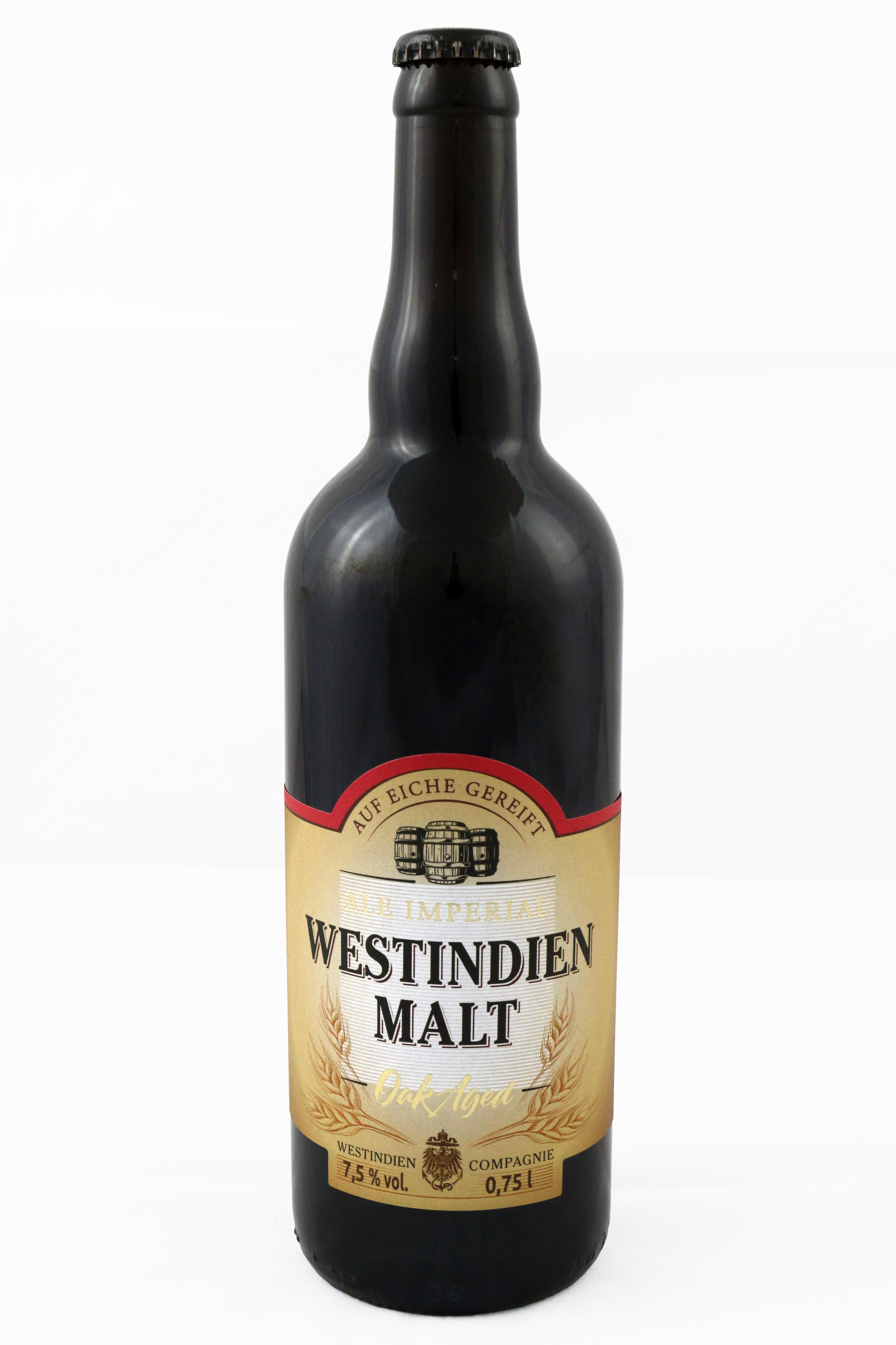 """""""Westindien Malt"""" Rauchbier 7,5 % vol."""